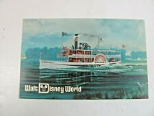 Postcard WALT DISNEY WORLD. Cruising by Excursion Steamer. 1971