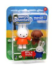 Miffy's Adventures Big & Small MIFFY & SNUFFY Set Dog -  New - Jazwares 12963
