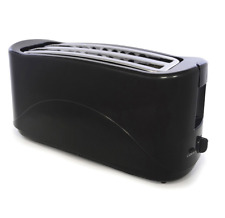 PREMIUM 4 SLICE ELECTRIC BREAD TOASTER TWIN SLOT KITCHEN SLIDE OUT CRUMB TRAY