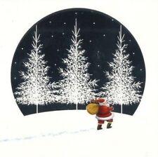 Charity Christmas Card Air Ambulance Service SANTA'S FROSTY WALK 10 Pack