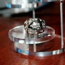 Amazing Diamonate Crystal Sparkly Fashion Ring Jewelry US Size-8.5 (UK  - P 1/2)