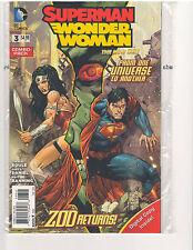 SUPERMAN WONDER WOMAN #3 COMBO PACK NEW 52 (February 2014, DC Comics)