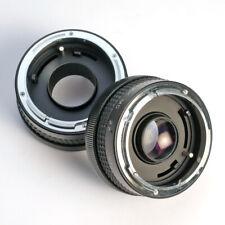 Hanimex 2x-Telekonverter + Zwischenring * Canon FD * converter * Tele+Macro