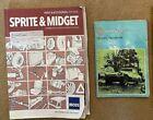 MG Midget Drivers Handbook + Moss Parts & Accessories catalogue