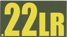"Vinyl Ammo Can Magnet label "".22 LR Bold"""