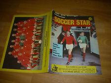 SOCCER Star Magazine ORIENT & Bobby CHARLTON Man Utd cover pictures 06/09/68