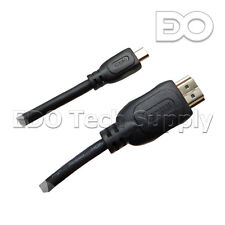 "10 ft Micro HDMI TV Cable for Lenovo Idea Tab S6000 10"" Touch-Screen Tablet PC"