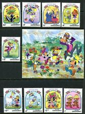 Grenada Grenadines 1984 Disney Characters Celebrating Easter Mint Set And Sheet!