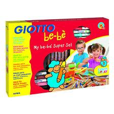 GIOTTO BE-BE Super Set - feutres à pointe,crayons,ARGILES,livre à colorier etc