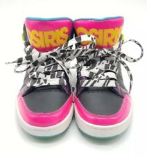 Womens Osiris Convoy Mid Muti-Color Neon Retro Look Shoes 2 Right 5.5 Left 5