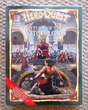 Games Workshop MB Jeux Hero Quest Return of the Witch Lord 1989 Scellé