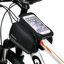 ArcEnCiel Mountain Road Bike Bag Touchscreen Bicycle Pack Double Pouch Cycling F
