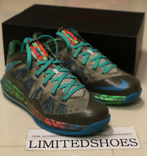 NIKE AIR MAX LEBRON X 10 LOW REPTILE SWAMP THING 579765-301 elite bhm easter red