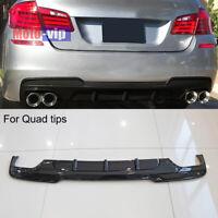 Carbon Fiber Rear Bumper Diffuser Fit for BMW F10 M-Sport 528i 535i 550i 12-16