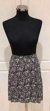 Chiffon Casual Floral Asymmetrical Skirts for Women