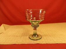 Libbey Crystal Sirrus Green Champagne Sherbert Stem 6 1/4""