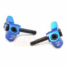Kyosho Mini-Z MR-03 Aluminum 1Deg. Camber Angle Steering Block Blue #R246-1312