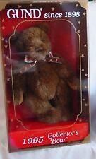 Gund - 1995 Collectors Bear - new in Original Box