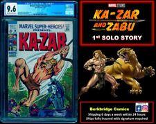 🔥 MARVEL SUPER HEROES #19 CGC 9.6 👀 X-MEN 10 FANS: 1st KA-ZAR SOLO 1 OF < 20