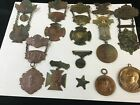 CIVIL WAR REUNIOIN MEDALS COLLECTION - 11 PCS.  EARLY 1900'S - 1921