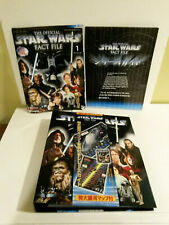 Star Wars Fact File Japan edition unused 2002 issued w Cosmology Timeline