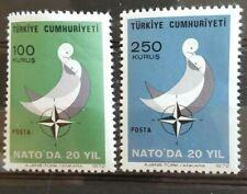 TURKEY / TURKIJE 1972 EUROPA MI.NR. 2250-51 MINT.N.H.