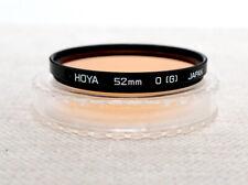 HOYA JAPAN 52mm Orange O G Filter for camera lens SLR DSLR