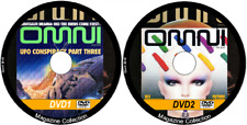 Omni Sci Fi Magazine 202 issues/specials Science Fiction on 2 DVDs