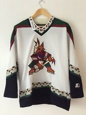 Vintage Phoenix Coyotes NHL Starter Semi-Pro Ice Hockey Jersey. Very Rare!