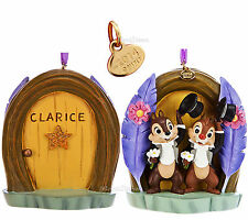 NEW CHIP 'N DALE DISNEY STORE 2014 SKETCHBOOK CHRISTMAS ORNAMENT CHIP AND DALE