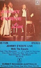 JOHNNY O'KEEFE CASSETTE TAPE LIVE WITH THE ESCORTS FREE POST IN AUSTRALIA