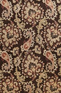 Paisley Transitional Oriental Area Rug Hand-Tufted Wool 10x13 Living Room Carpet