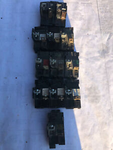 11-Pushmatic Breakers,9-P115,1-P130&1P220,Removed in working condtion15A,20A,30A