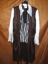 Pirate costume - outfit eyepatch earring cutlass - boys S (4-6) - HALLOWEEN NIP
