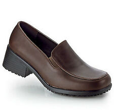SFC Shoes for Crews Envy Brown Leather Women's Shoes 3100 Size 6.5 / 37 $64 NEW