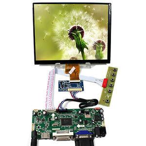"8"" HJ080IA 01E IPS LCD Monitor+HDM I Controller Driver Board VGA DVI Audio Input"