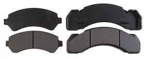 Disc Brake Pad Set-Semi-Metallic Front,Rear ACDelco 17D184MH