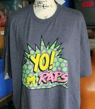 Yo! MTV Raps - Men's Blue Short Sleeve T-Shirt Size 3XL