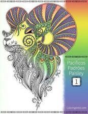 Pacíficos Padrões Paisley: Livro para Colorir de Pacíficos Padrões Paisley...