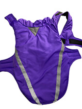 New listing Nwot Purple Waterproof Windproof Dog Blanket Reflective Strips Size Xl