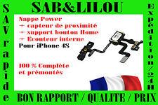 ★★ NAPPE POWER ÉCOUTEUR et DE PROXIMITÉ SUPPORT BOUTON IPHONE 4S ★★