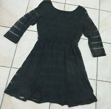 Lily Rose Black Occasion Formal Career Professional Dress Women's Sz M