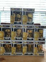Funko pop Marvel Studios The First Ten Years (Gold Chrome) Base Set Of 10