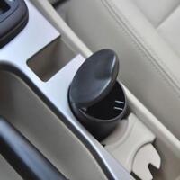 Portable Car LED Light Ashtray Auto Travel Cigarette Ash Holder Cup Black NEW GA