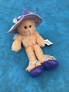 """Ganz Fancy Feet Cat Plush Stuffed Animal With Hat And Shoes 14"""""""