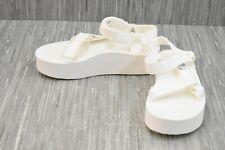 **Teva Flatform Universal 1008844 Sandal - Women's Size 7, White