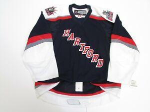 HARTFORD WOLF PACK AUTHENTIC AHL REEBOK EDGE 2.0 7287 HOCKEY JERSEY SIZE 56