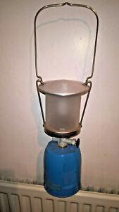 CAMPING GAZ LUMOGAZ C 200 GAS LAMP LIGHT LANTERN