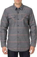 2014 NWT MENS VANS CABRILLO MOUNTAIN EDITION JACKET $100 XL black grey stripes