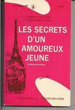 LES SECRETS D'UN AMOUREUX JEUNE ~ JEWEL CLASSIC 9521 1967 GUILLAUME APOLLINAIRE